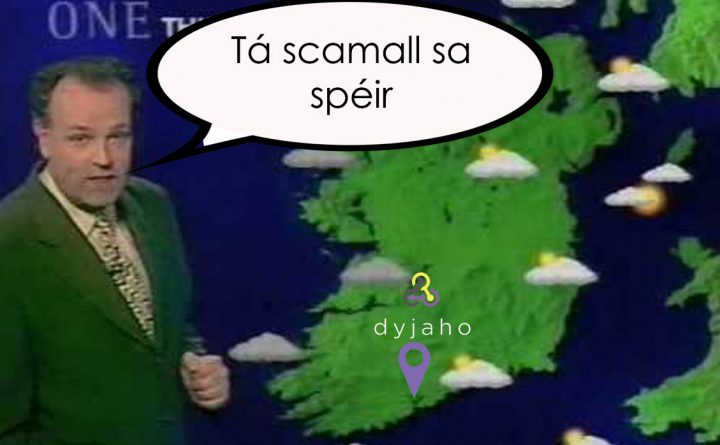 irish weather man